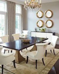 dining table in front of fireplace contemporary dining table bernhardt throughout room set plans