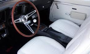 lexus white interior 1967 1969 camaro interiors