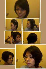 short bob hairstyles 360 degrees curl short hair with flat iron hair style and color for woman