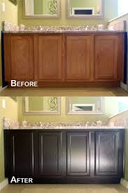 kitchen paint or stain kitchen cabinets for flawless tea stained