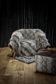 Fox Fur Blanket Decorating Grey Faux Fur Throw For Stunning Home Accessories Ideas