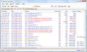 http access log analyzer analyze jboss logs software web log filter