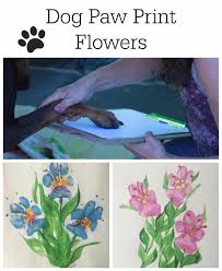 10 easy dog paw print craft projects paw print crafts paw print