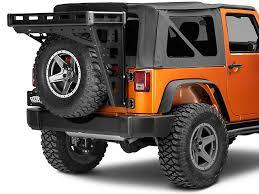 cargo rack for jeep wrangler teraflex wrangler alta cargo rack black rails 4830010 07 17