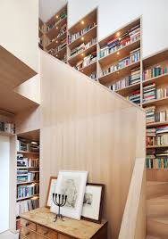 Staircase Design Ideas by 12 Inspiring Examples Of Staircases With Bookshelves Contemporist