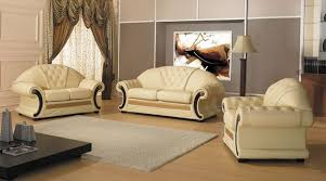 Versace Bedroom Sets Cleopatra Traditional Leather Sofa Set