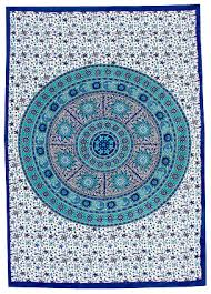 sun and moon mandala tapestry halfmoonmusic