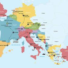 european explorer plus island cruising tour europe