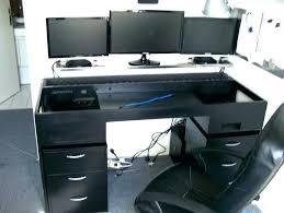 bureau pour ordi meuble pour pc de bureau bureau pour ordinateur table meuble pc