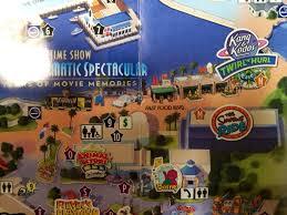 Universal Studios Orlando Google Maps by Universal Orlando Park Map Adds Springfield Attractions