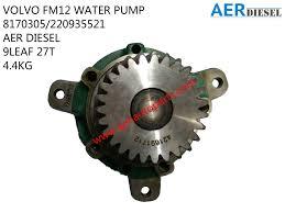 volvo truck auto parts volvo fm12 water pump 8170305 220935521 ajm auto continental