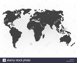 Black And White World Map India Map Black And White Stock Photos U0026 Images Alamy