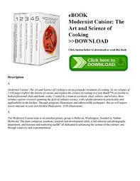 modernist cuisine pdf ebook pdf modernist cuisine the and science of cooking