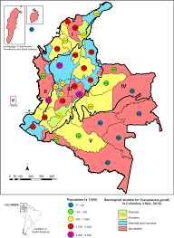 Ces Map Serological Studies Of T Gondii Infection In Humans And