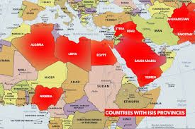 Map Of Turkey And Syria by Terrifying Map Shows How Isis Will Spread Worldwide If They U0027re Not