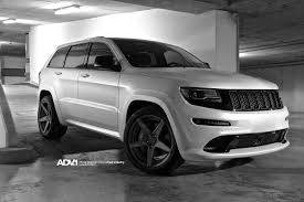 jeep cherokee white with black rims jeep cherokee srt8 adv5 m v2 concave wheels adv 1 wheels