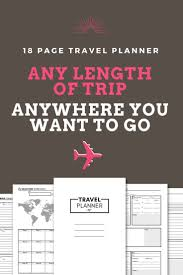 trip planner template best 25 travel planner ideas on pinterest trip planner trip travel planner vacation planner trip planner vacation organizer family vacation packing list printable planner