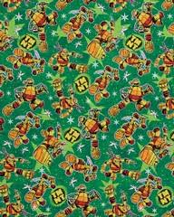 tmnt wrapping paper mutant turtles christmas wrapping paper shop