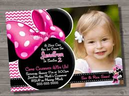 222 best minnie mouse invitation cards images on pinterest