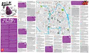 Brussels Map Map Ghent Use It Tourist Info For Young People
