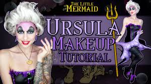 ursula makeup tutorial halloween 2014 youtube