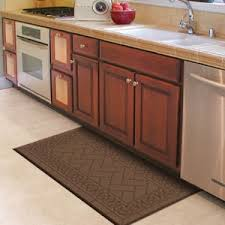Decorative Kitchen Rugs Kitchen Rugs And Mats Galley Kitchen Decoration With Rug Brown