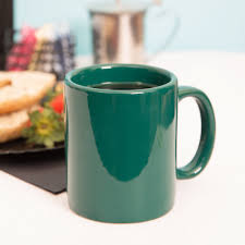 tuxton bgm 1202 duratux 12 oz hunter green china c handle mug