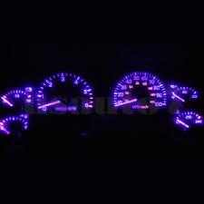 purple jeep cherokee dash instrument cluster gauge purple leds lights kit fits 97 01 jeep