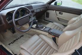 old porsche interior 1984 porsche 944 with 7 500 miles german cars for sale blog