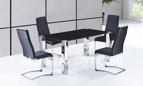 Dining Chair On Sale Glass Dining Table With Stainless Steel Legs Leather Dining