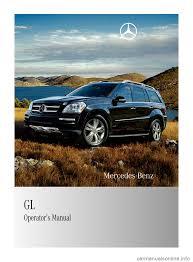 mercedes benz gl550 2010 x164 owner u0027s manual