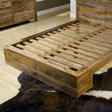 modus atria 5 piece panel bedroom set in natural sheesham beyond