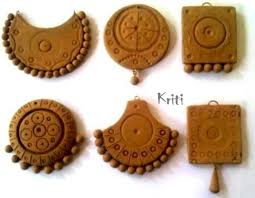 how to bake terracotta clay jewelry from home chilli