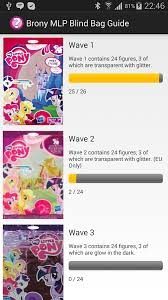 My Little Pony Blind Bag Wave 2 Brony Mlp Blind Bag Guide Android Apps On Google Play