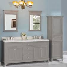 Double Vanity With Tower Smithfield 72