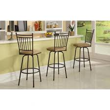 linon home decor bar stools admiral industries inc tufted bar stools set of 3 vintage in