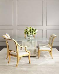 Covered Dining Room Chairs Dining Room Furniture At Neiman