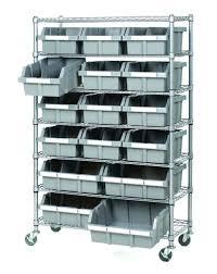 storage bins storage shelves for rubbermaid bins building a