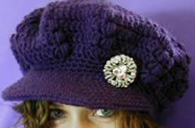 free pattern newsboy cap crocheted newsboy cap free pattern hats pinterest newsboy cap