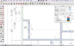 how to design a house in sketchup sketchup floor plan tutorial doors and windows