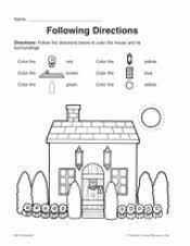 following directions teachervision