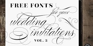 free fonts for wedding invitations free fonts for wedding invitations paperinvite