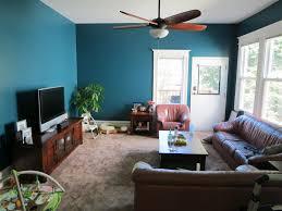 blue and brown living room decor ecoexperienciaselsalvador com
