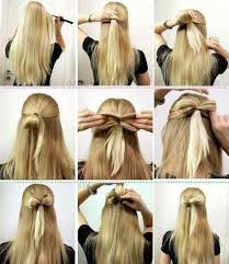 hair bow with hair 5 best styles to make a bow with steps hairzstyle