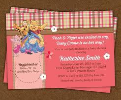 winnie pooh invitations winnie the pooh baby shower invitations