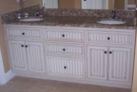 Bead Board Bathroom White Cottage Style Bathroom Vanities For Beadboard Panel Cabinet
