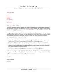 executive assistant cover letter samples cover letter for