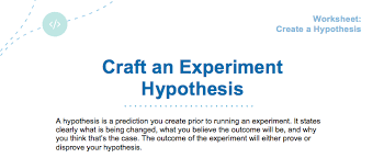 design an effective hypothesis optimizely knowledge base