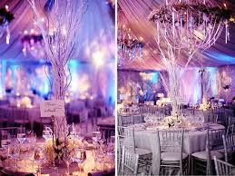 winter wedding decorations purple winter weddings winter wedding inspiration purple