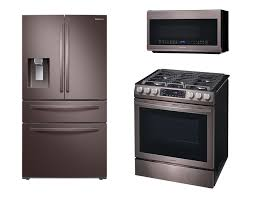 what color appliances look best with cabinets samsung shocks the appliance world with a slightly different